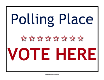 Polling_Place_Sign