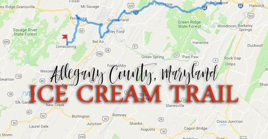 Allegany County, MD Ice Cream Trail Image