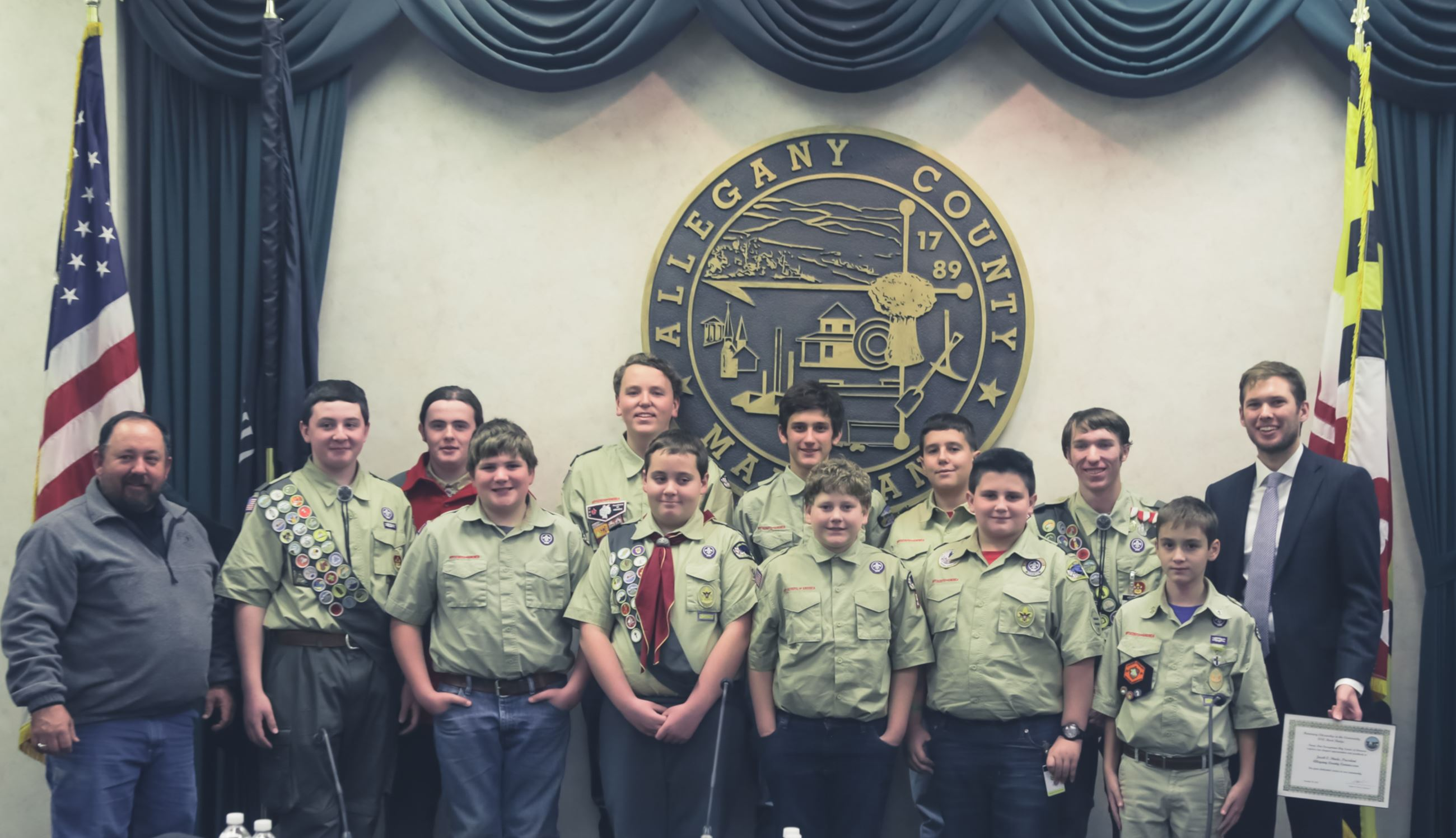 Citizenship in the Community Merit Badge Photo
