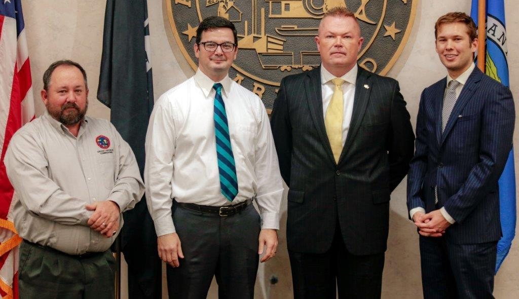 Pyles Welcomed By County Commissioners 2019