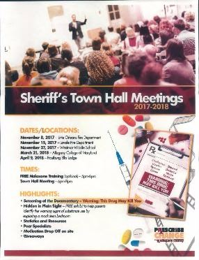 Sheriffs Town Hall Meetings